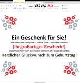Vorlagen Für Karten Und Gutscheine Wordvorlagede