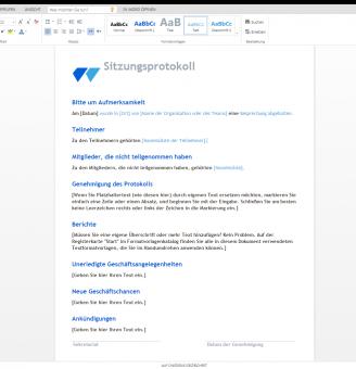 Best Of Schriftfuhrer Verein Protokoll Vorlage 10